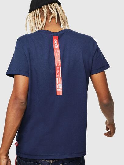 Diesel - CC-T-DIEGO-COLA, Bleu Foncé - T-Shirts - Image 3