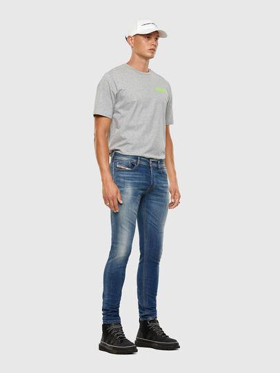 Diesel - Sleenker 009FC, Bleu moyen - Jeans - Image 6