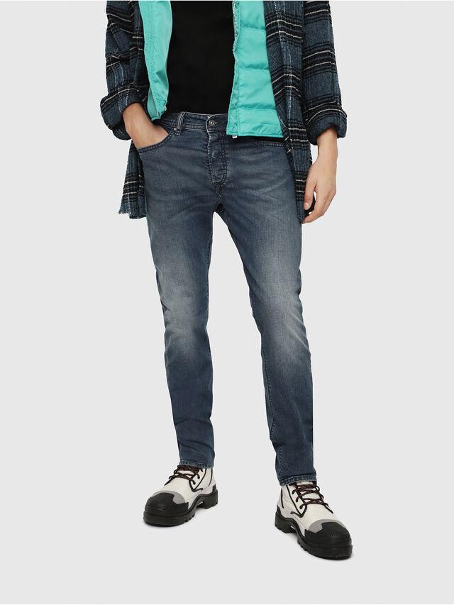 Diesel - Buster 084TU, Bleu Foncé - Jeans - Image 1