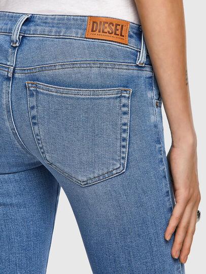 Diesel - Slandy Low 009ZY, Bleu Clair - Jeans - Image 4