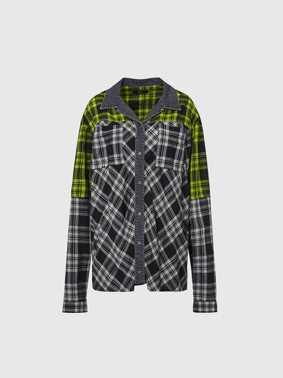 Diesel - C-NILLA, Noir/Blanc - Chemises - Image 1