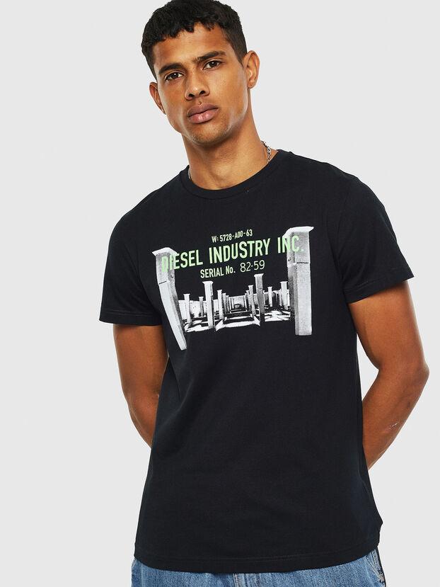 T-DIEGO-S13, Noir - T-Shirts