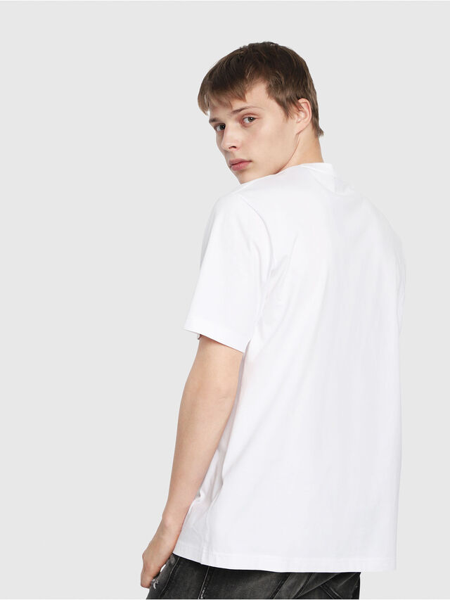 Diesel - T-JUST-Y2, Blanc - T-Shirts - Image 2