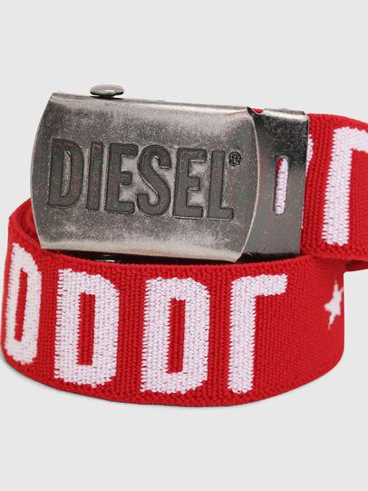 Diesel - BARTY, Rouge/Blanc - Ceintures - Image 2