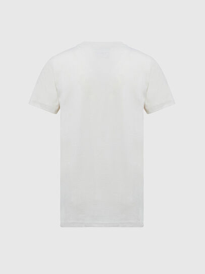 Diesel - T-SILY-E55, Blanc - T-Shirts - Image 2