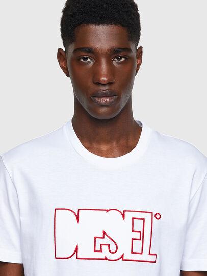 Diesel - T-DIEGOS-B8, Rouge/Blanc - T-Shirts - Image 3