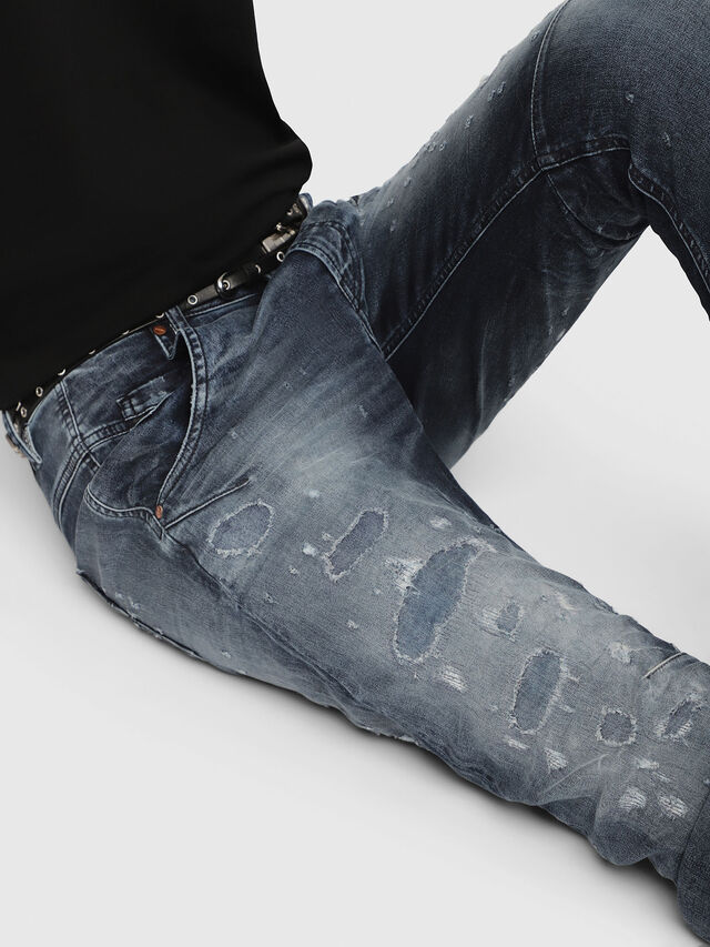Diesel - Fayza JoggJeans 069CC, Bleu Foncé - Jeans - Image 3