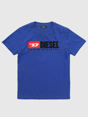 TJUSTDIVISION, Bleu Chiné - T-shirts et Hauts