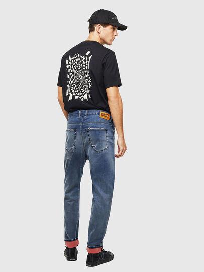 Diesel - D-Vider JoggJeans 069LW, Bleu Foncé - Jeans - Image 7