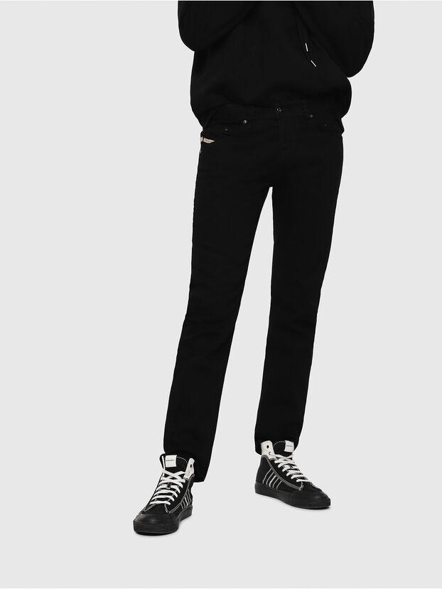 Belther 0886Z, Noir/Gris foncé - Jeans