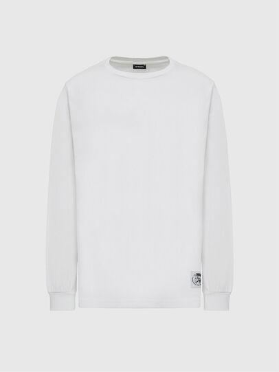 Diesel - T-JUST-LS-MOHI, Blanc - T-Shirts - Image 1