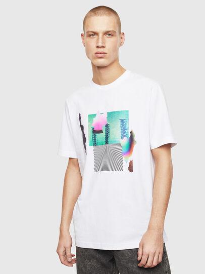 Diesel - T-JUST-T25, Blanc - T-Shirts - Image 1