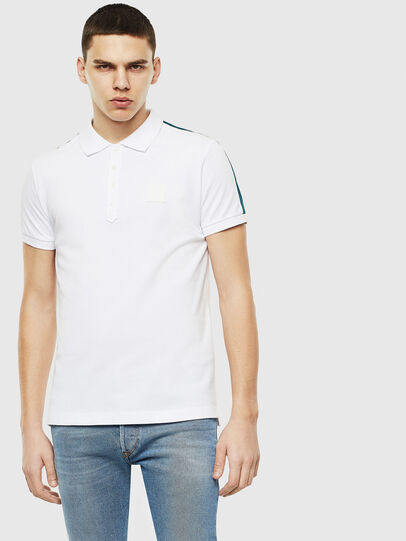 Diesel - T-RALFY-S1, Blanc - Polos - Image 1