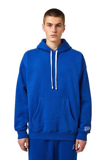 Sweat-shirt à capuche avec empiècement ondulé DSL