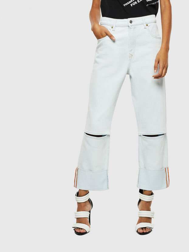 D-Reggy 009BW, Bleu Clair - Jeans