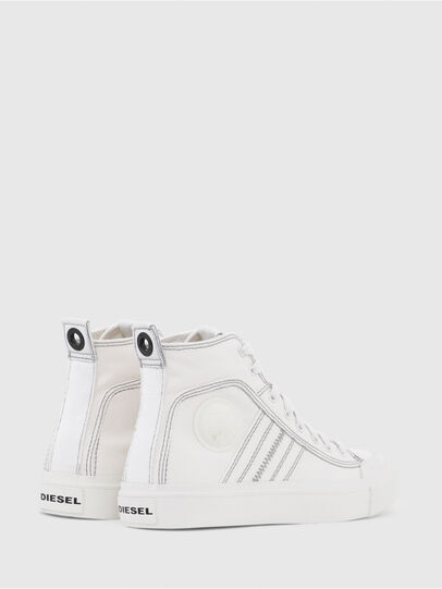 Diesel - S-ASTICO MID LACE W, Blanc - Baskets - Image 3