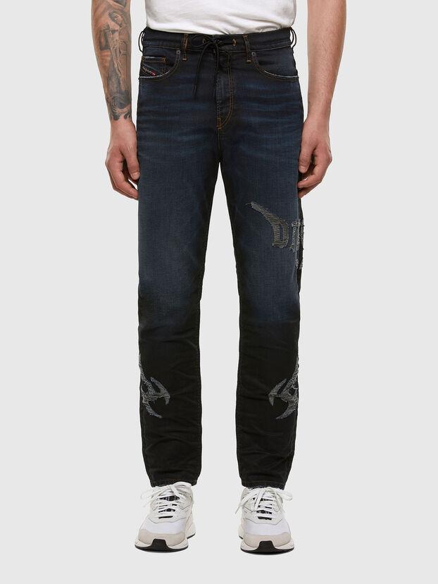 D-Vider JoggJeans 009HE, Bleu Foncé - Jeans