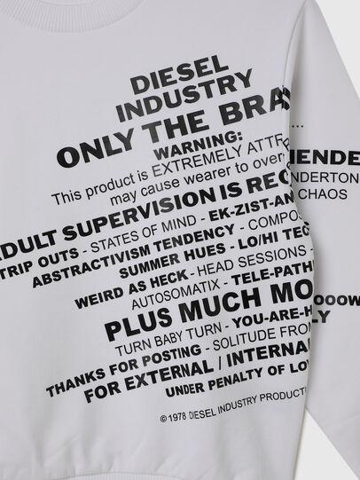 Diesel - SGIRKS1 OVER, Blanc - Pull Cotton - Image 3