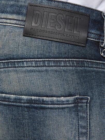 Diesel - Sleenker 069NI, Bleu Foncé - Jeans - Image 4
