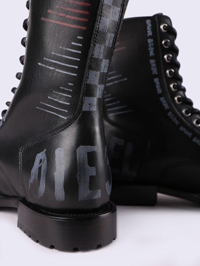 D-KOMB BOOT CB, Noir