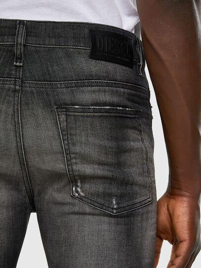 Diesel - D-Reeft JoggJeans 009FX, Noir/Gris foncé - Jeans - Image 3