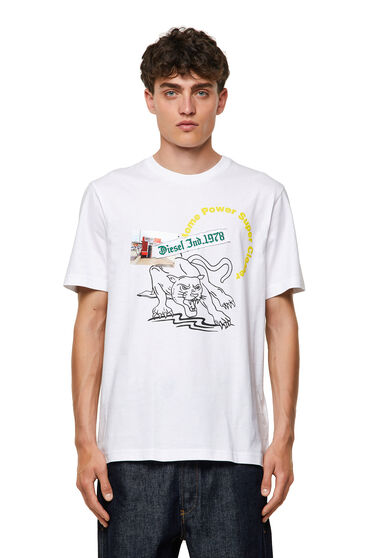 T-shirt avec imprimés graphiques