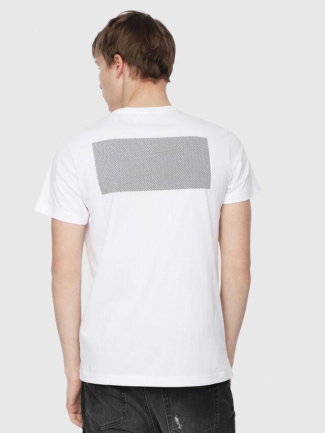 Diesel - T-DIEGO-Y1, Blanc - T-Shirts - Image 2
