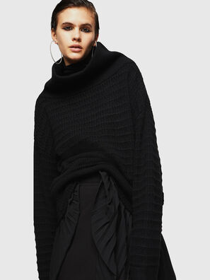 MELLEY, Noir - Pull Maille