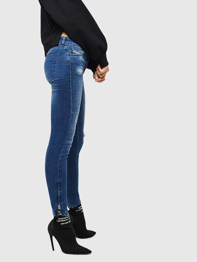 Diesel - Slandy Zip 089AI, Bleu moyen - Jeans - Image 4