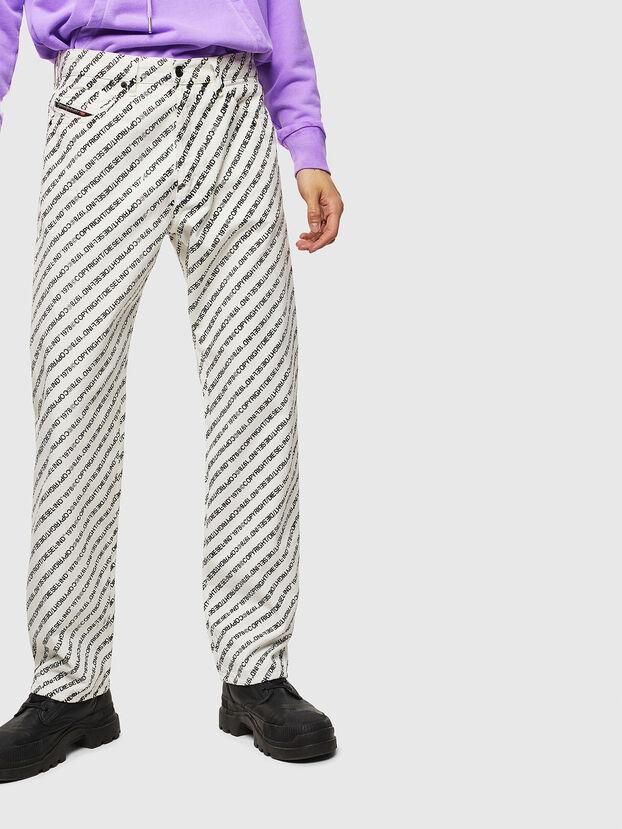 D-Macs 069KU, Blanc - Jeans