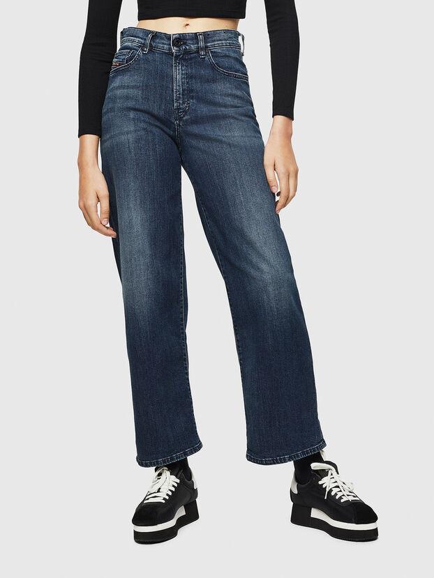 Widee 0092H, Bleu Foncé - Jeans
