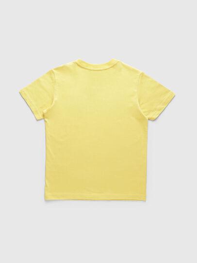 Diesel - TJUSTDIVISION, Jaune - T-shirts et Hauts - Image 2