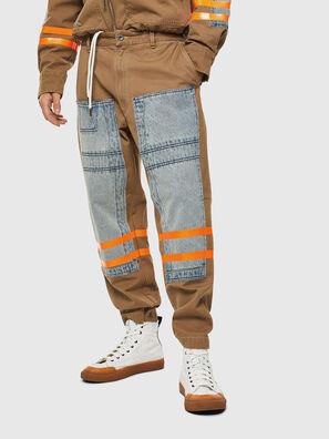 P-CARUSO, Marron Clair - Pantalons