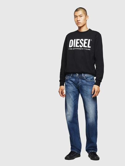Diesel - Larkee 008XR, Bleu Foncé - Jeans - Image 5