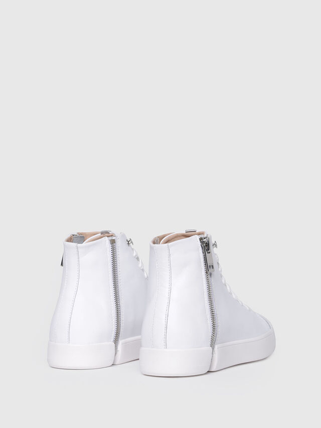 Diesel - S-NENTISH MC W, Blanc - Baskets - Image 3