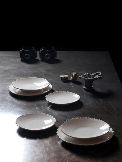 Diesel - 10992 MACHINE COLLEC, Blanc - Assiettes - Image 3