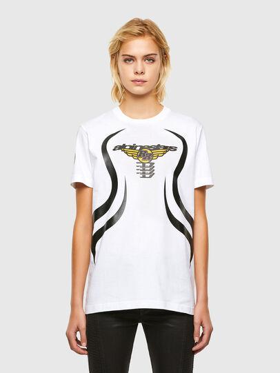 Diesel - ASTARS-T-DIEGOS-A-FL, Blanc - T-Shirts - Image 1