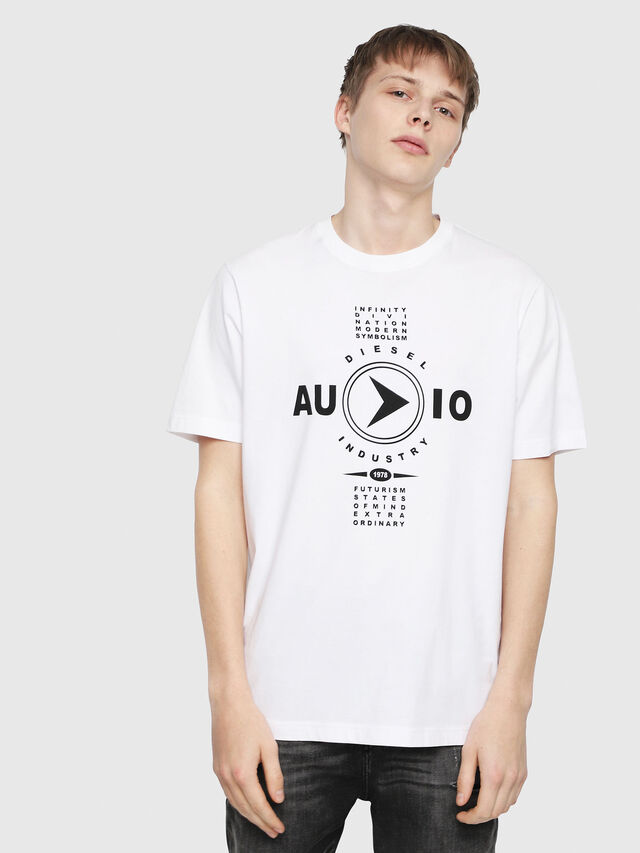 Diesel - T-JUST-Y2, Blanc - T-Shirts - Image 1