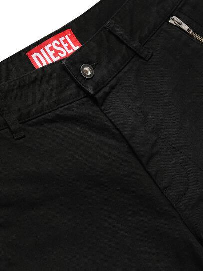 Diesel - GR02-P303, Noir - Shorts - Image 3