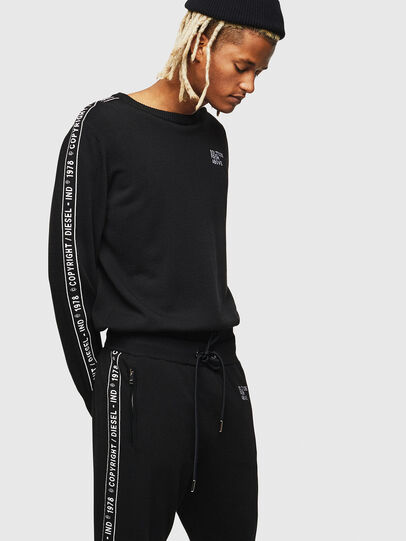 Diesel - K-TRACKY-C, Noir - Pull Maille - Image 1
