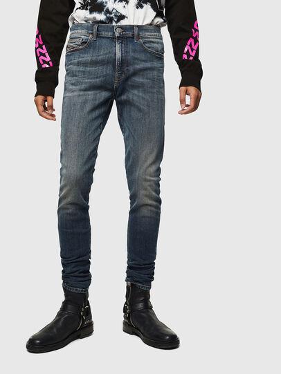 Diesel - D-Amny 069KG, Bleu Foncé - Jeans - Image 1
