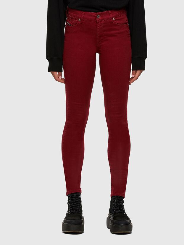 D-Roisin 0096H, Rouge - Jeans