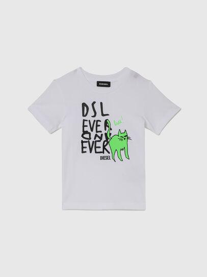 Diesel - TORTUB-R, Blanc - T-shirts et Hauts - Image 1