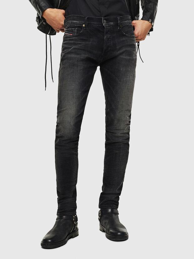 Tepphar 0098B, Noir/Gris foncé - Jeans