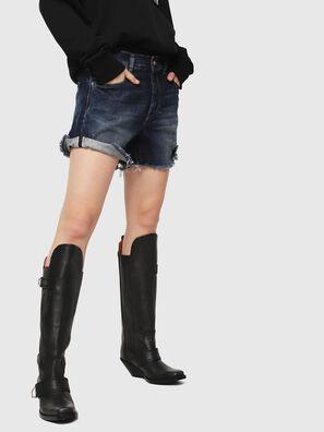 DE-LOWY, Bleu moyen - Shorts