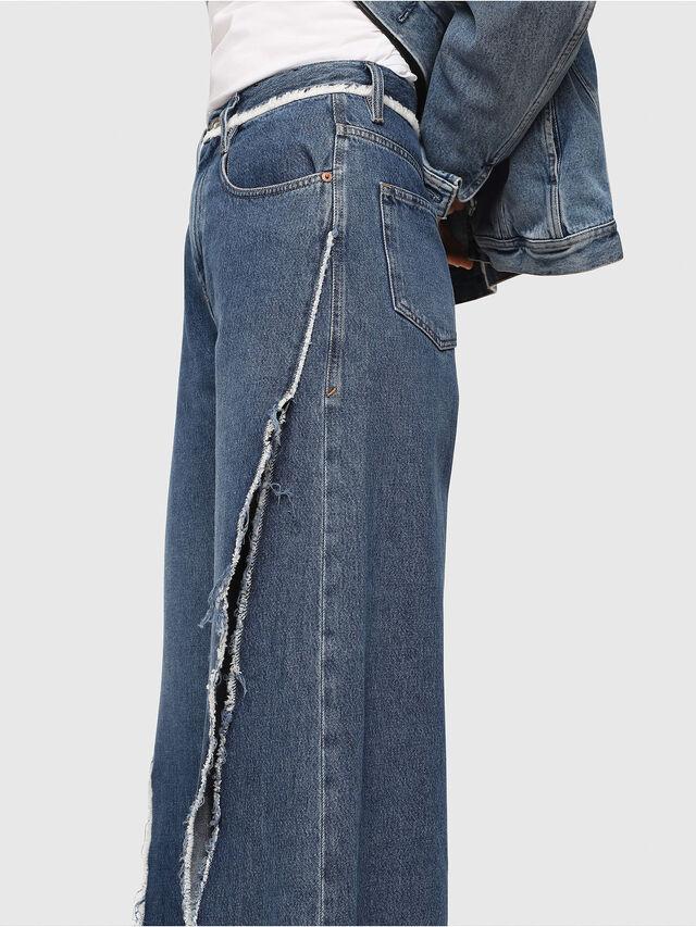 Diesel - D-Izzier 080AN, Bleu moyen - Jeans - Image 3