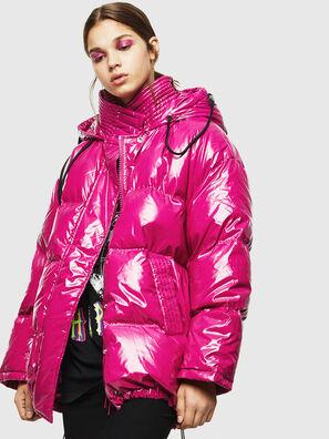 W-ALLA, Rose Fluo - Vestes d'hiver