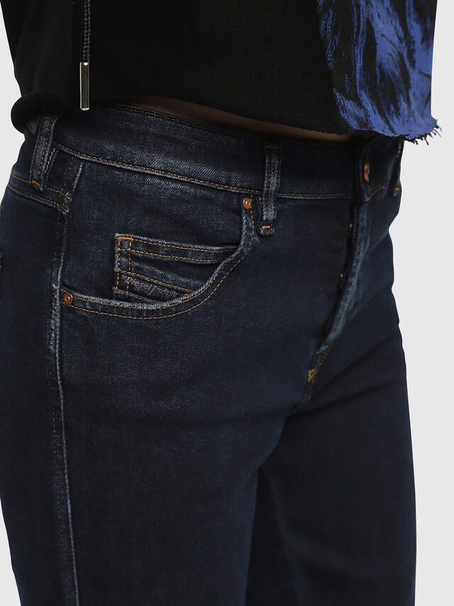 Diesel - Babhila 084YD, Bleu Foncé - Jeans - Image 5