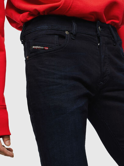 Diesel - Sleenker 0095X, Bleu Foncé - Jeans - Image 3