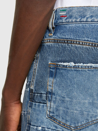 Diesel - D-Strukt 009UE, Bleu Clair - Jeans - Image 4